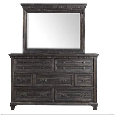 Picket House Furnishings Steele Dresser & Mirror Set