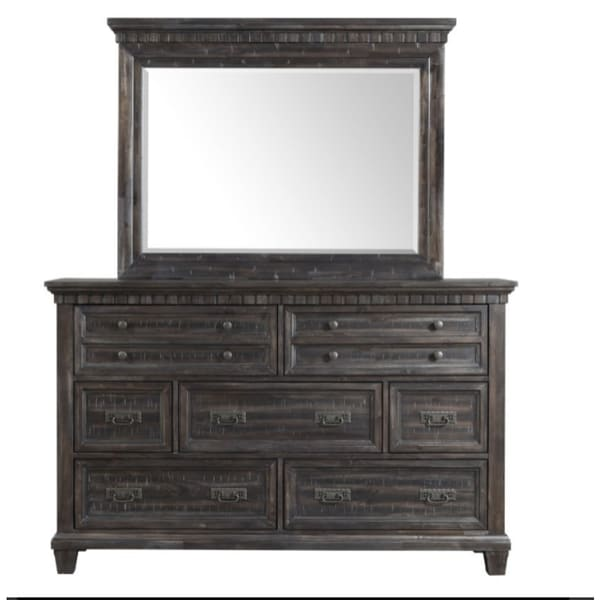 Picket House Furnishings Steele Dresser & Mirror Set