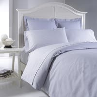 Oxford Chambray Cotton Yarn Dyed 3-piece Duvet Cover Set