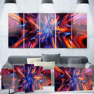 Designart 'Starry Trance' Metal Wall Art
