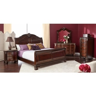 Picket House Victoria Queen Sleigh Bed