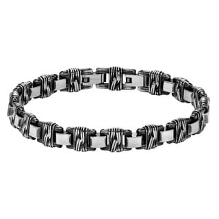 Cambridge Men's Steel Woven Bracelet