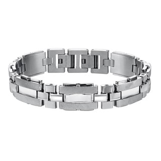 Cambridge Silver-colored Stainless Steel Link Bracelet