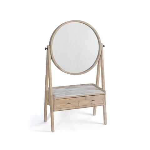 Handcrafted Round Vanity Mirror