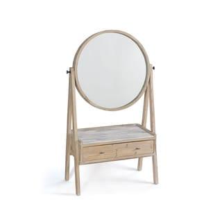 Round Mirrored Vanity