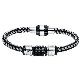 Cambridge Stainless Steel Corder & Beaded Bracelet