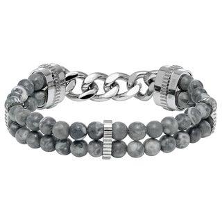 Cambridge Men's Jasper Beaded Bracelet