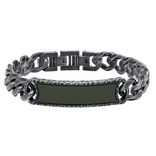 Cambridge Steel 8-millimeter Chain Link Bracelet