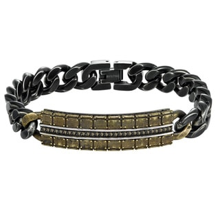 Cambridge Cognac Bronze Diamond Bracelet