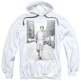 Dean/Walk The Walk Adult Pull-Over Hoodie in White