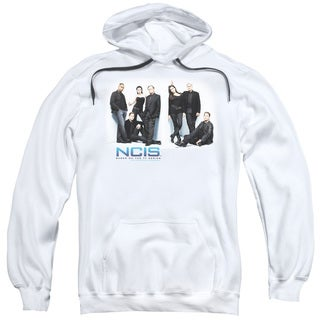 Ncis/White Room Adult Pull-Over Hoodie in White