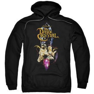 Dark Crystal/Crystal Quest Adult Pull-Over Hoodie in Black