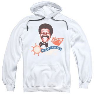 Love Boat/Shake Em Up Adult Pull-Over Hoodie in White