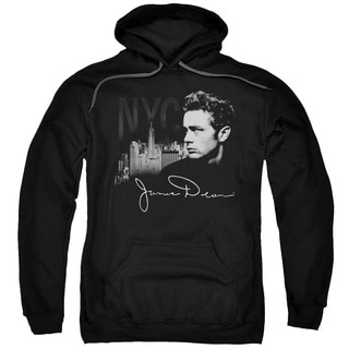 Dean/City Life Adult Pull-Over Hoodie in Black