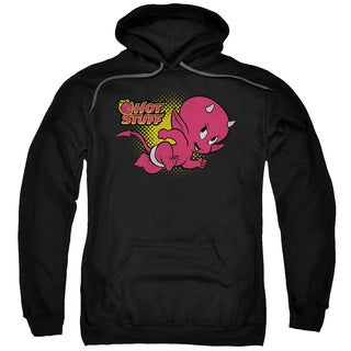 Hot Stuff/Little Devil Adult Pull-Over Hoodie in Black