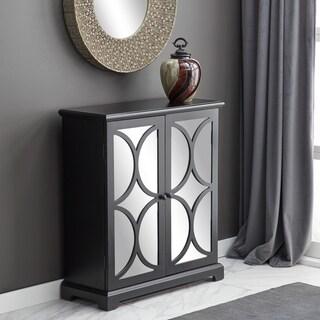 Modern 36 x 32 Inch Mirrored Wooden Cabinet by Studio 350