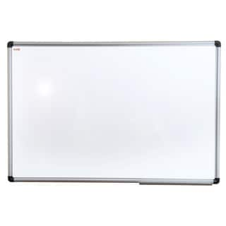 Viztex Porcelain Magnetic Dry Erase Board with Aluminium Frame