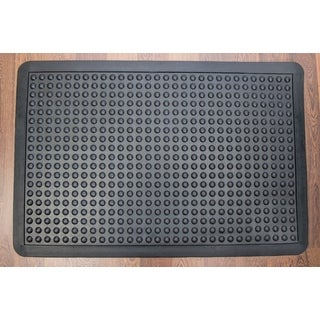 Doortex Black Bubble Anti-Fatigue Mat