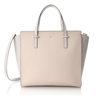 Kate Spade New York Cedar Street Hayden Crisp Linen/Cement Top-Handle Handbag
