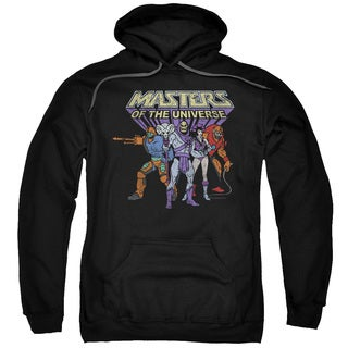 Masters Of The Universe/Team Of Villains Adult Pull-Over Hoodie in Black