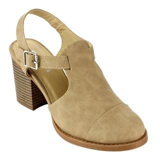 Beston Women's Chunky Heels