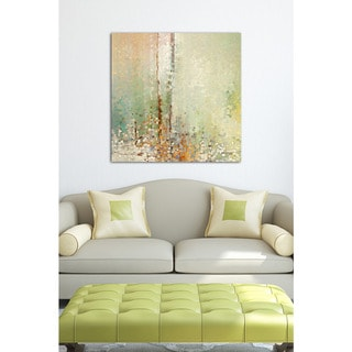 Mark Lawrence 'The Right Kind Of Help. John 12:32' Giclee Stretched Canvas Wall Art