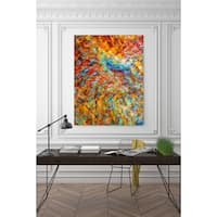 Mark Lawrence 'You Shall Reign Glorious. Isaiah 24:23' Giclee Stretched Canvas Wall Art