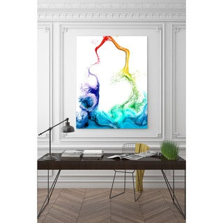 Mark Lawrence 'Fountain Of The Water Of Life. Revelation 21:6' Giclee Stretched Canvas Wall Art