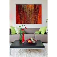 Mark Lawrence ' The Lord Pleads For Me. Lamentations 3:58' Giclee Stretched Canvas Wall Art
