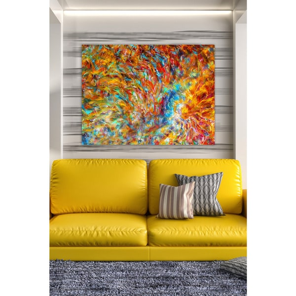 The Curated Nomad Mark Lawrence 'You Shall Reign Glorious. Isaiah 24:23' Giclee Stretched Canvas Wall Art