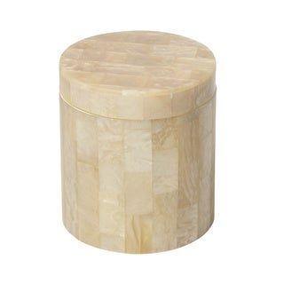 Bellagio Beige Mother-of-pearl Canister