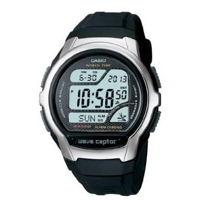 Casio Men's 'Classic' Digital Black Rubber Watch