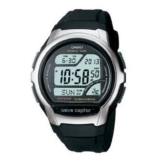 Casio Men's 'Classic' Digital Black Rubber Watch