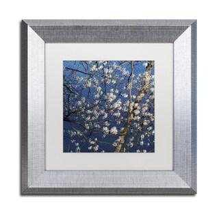 Kurt Shaffer 'Springtime at the Lake' Matted Framed Art