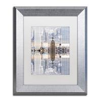Philippe Hugonnard 'New York Reflection IX' Matted Framed Art