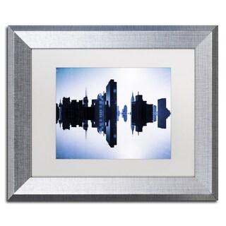 Philippe Hugonnard 'New York Reflection I' Matted Framed Art