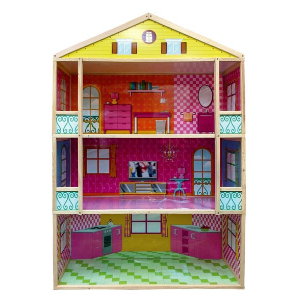 Fortune East Giant 3-story Dollhouse