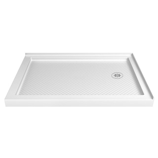 DreamLine SlimLine 36 x 48-inch Double Threshold Black Shower Base