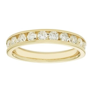 Boston Bay 14k Yellow Gold 3/4ct TDW Diamond Anniversary Band (H-I, I1-I2)
