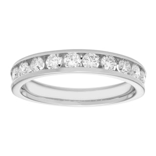 Boston Bay 14k White Gold 3/4ct TDW Diamond Anniversary Band (H-I, I1-I2)