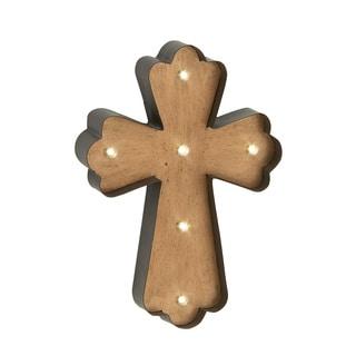 Metal Lite Wall Cross