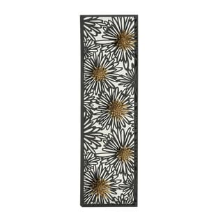 Studio 350 Metal Wall Plaque 17 inches wide, 59 inches high