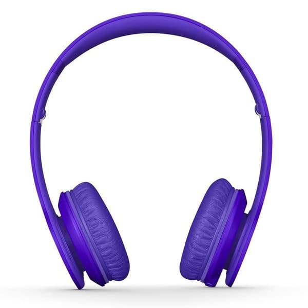 Shop Dre Beats Matte Purple Reconditioned Solo Wired Headphones Overstock 11846004
