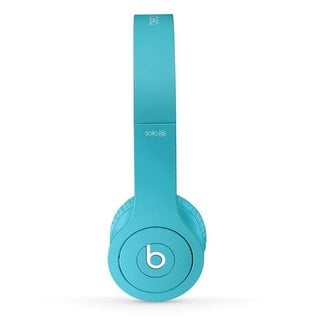 Beats by Dr. Dre Solo Light Blue Reconditioned Wired Headphones
