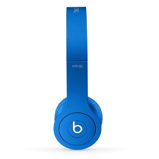 Beats by Dre Matte Dark Blue Reconditioned Solo Wired Headphones