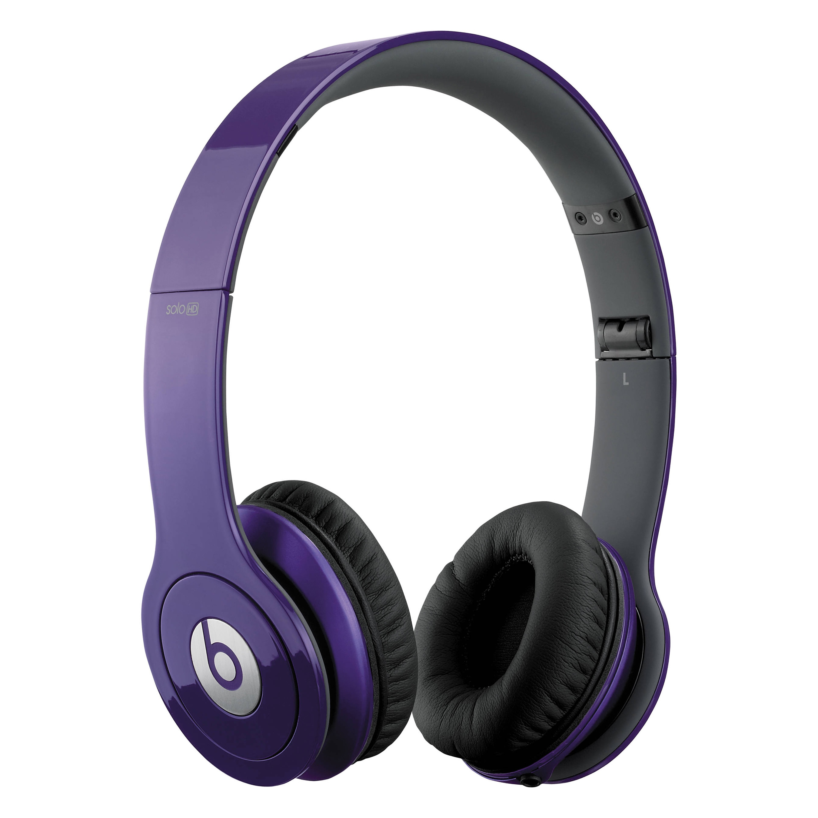 Shop Beats By Dre Solo Grape Purple Reconditioned Wired Headphones Overstock 11846046
