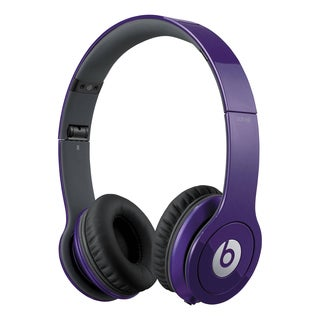 Beats by Dre Solo Grape Purple Reconditioned Wired Headphones