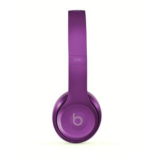 DRE BEATS Reconditioned Solo 2 Royal Imperial Violet Wired Headphones