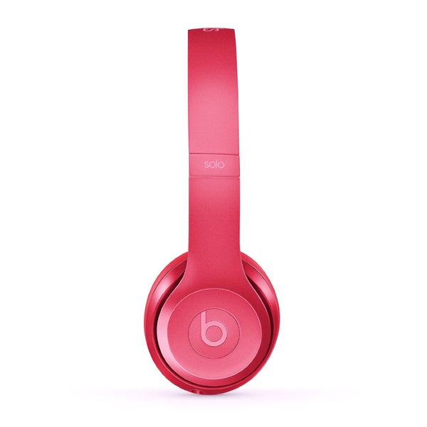 Beats by Dre Solo2 Reconditioned Royal Blush Rose Wired Headphones