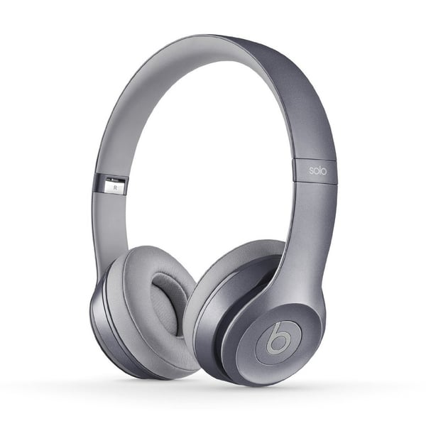 Shop Dre Beats Royal Stone Grey Reconditioned Solo 2 Wired Headphones Overstock 11846068